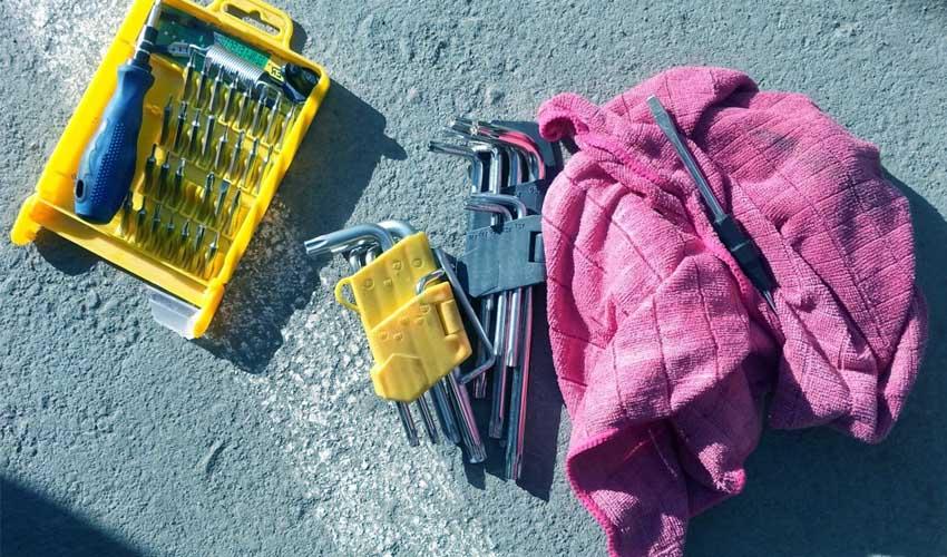 Инструменты для слива конденсата