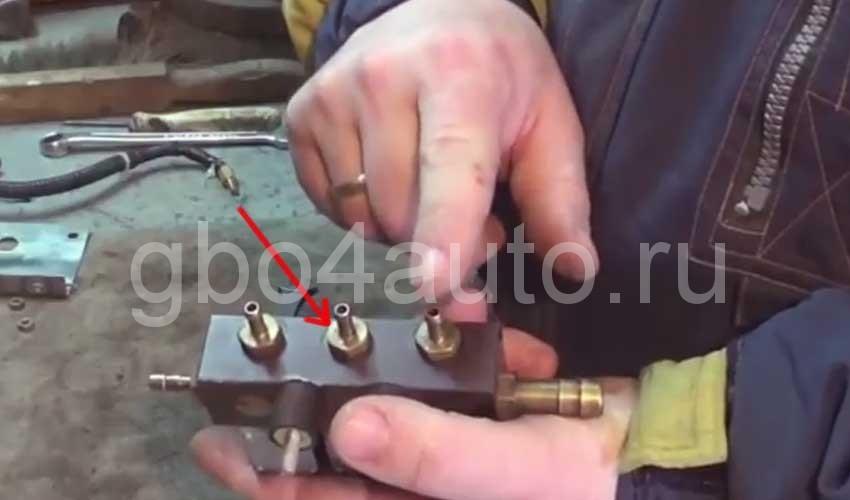 Разборка газовых инжекторов valtek