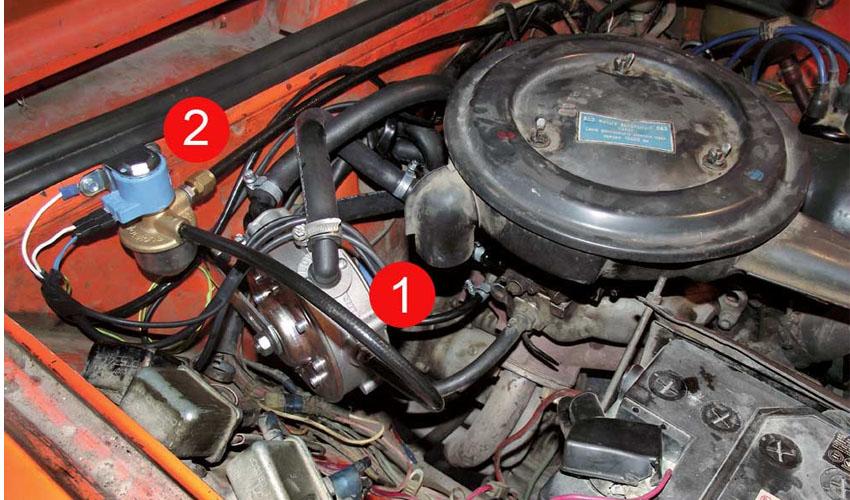 reduktor 7 - Схема установки гбо на карбюратор