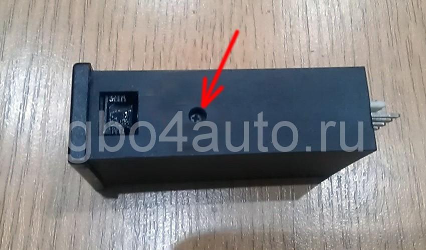 Кнопка ГБО инжекторного ДВС