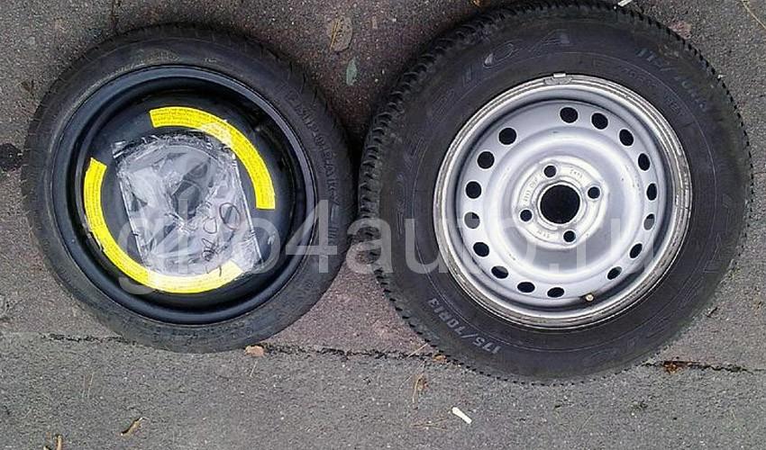 Докатка и полноразмерное колесо