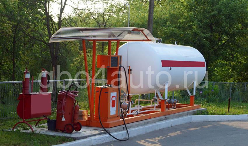 хранение сжиженого газа